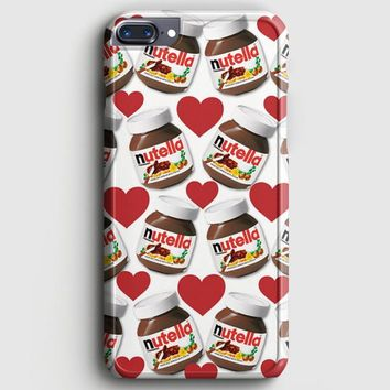Nutella Pattern iPhone 7 Plus Case | casescraft