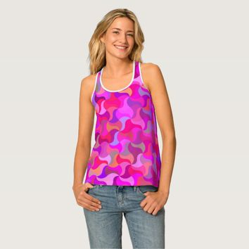Stunning Colorful Mosaic Tank Top