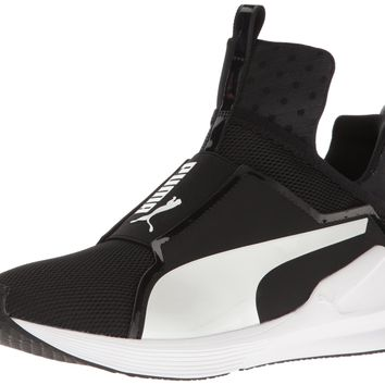 PUMA Women's Fierce Core Cross-Trainer Shoe Puma Black-puma White 6.5 B(M) US '
