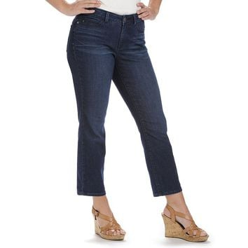 Lee Lola Modern Series Curvy Fit Capri Jeans