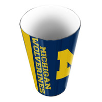 Michigan Wolverines NCAA Polymer Bathroom Tumbler