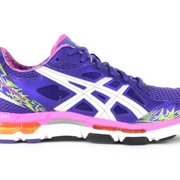 ASICS Womens Gel-Netburner Professional 10 Lavender | Asics Shoes | The Athletes Foot