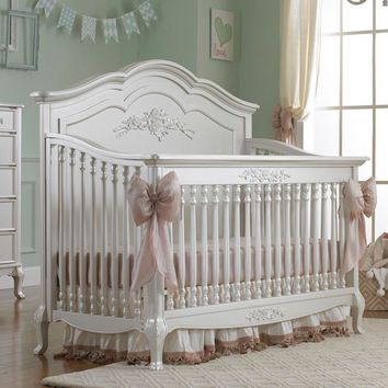 Angelina Convertible Crib Pearl Finish