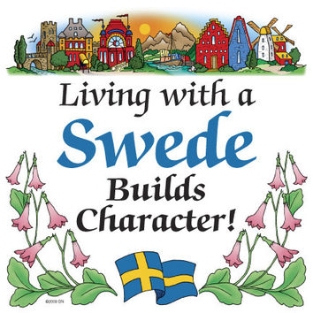 Kitchen Wall Plaques: Living With A Swede
