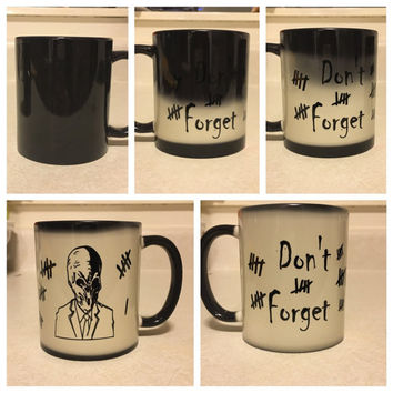 Don't forget color changing silence coffee mug