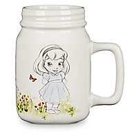 Disney Animators' Collection Mason Jar Ceramic Mug