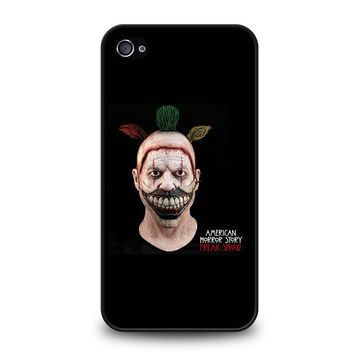AMERICAN HORROR STORY TWISTY THE CLOWN iPhone 4 / 4S Case