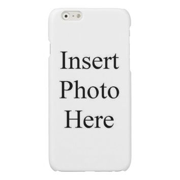Customized Case Savvy Glossy Finish iPhone 6 Case