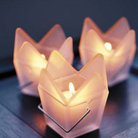 Dim Sum Votive Holders - Set of 3
