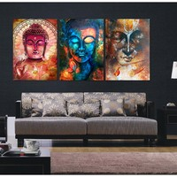 Buddha Abstract Canvas