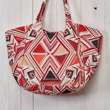 """Astor"" Baby Bag Tote by Love Stitch"
