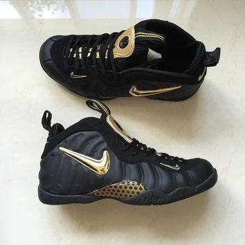 Nike Air Foamposite Pro Hadawi Black Gold New Color 40 --47