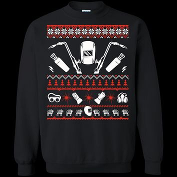 Welder Christmas Sweater