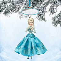 Elsa Sketchbook Ornament - Frozen - Personalizable