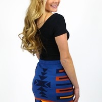 Noble Native Skirt - Navy