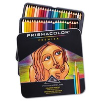 Prismacolor Premier Colored Woodcase Pencils, Assorted Colors - 48 Pencils
