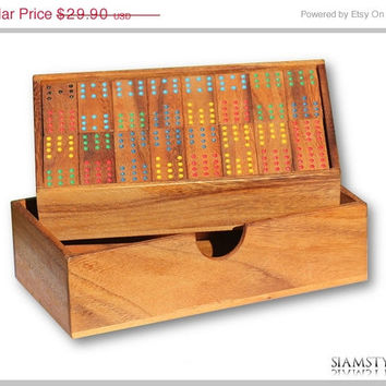 On Sale Domino Double 12 made from Samena wood