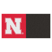 Nebraska Cornhuskers NCAA Team Logo Carpet Tiles