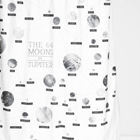 Moons Of Jupiter Shower Curtain - Urban Outfitters