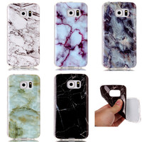 For Samsung Galaxy S7 S6 Edge S5 S4 S3 J5 J7 2016 Grand Prime Case Cover Marble Painting Soft TPU Phone Cases Coque Fundas
