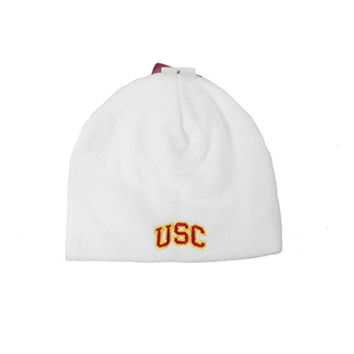 USC Trojans College Football Fowler Infant/toddlers Size Beanie White Knit Hat