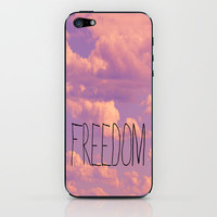 Freedom  iPhone & iPod Skin by Rachel Burbee
