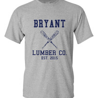 Bryant Lumber Company Baseball Fan Chicago Fan Baseball T Shirt Northsiders Chicago Ladies Mens Wrigley Field Fans, Northside Baseball