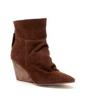 Sole Society East Suede Wedge Bootie