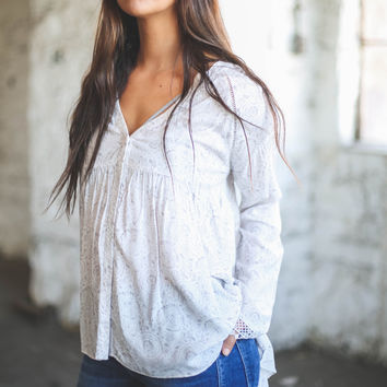 Cicely Peasant Blouse