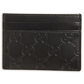 Gucci Leather Card Case | Nordstrom