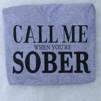 Sale! call me when your sober