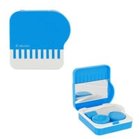 Cute CnKaite Contact Lens Case/Box Kit with Built-in Mirror