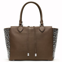 Michael Kors Large Miranda Stud-Side Tote
