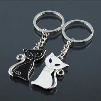 Women Cute Couple / Friends Key Ring Set