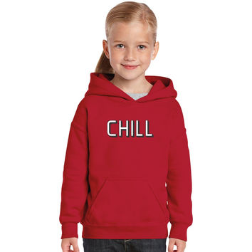 Funny Netflix And Chill Kids Hoodie