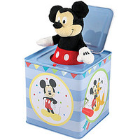 Disney Mickey Mouse Jack In The Box