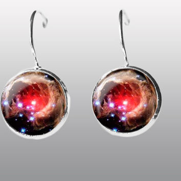 Galaxy Earring. Nebula Space Earrings. Universe Earrings. Galaxy dangle Earrings. Space Post Earrings Gift for Women and Girls.