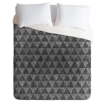 Nick Nelson Let There Be Night Duvet Cover