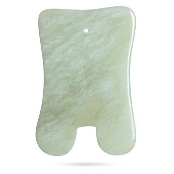 Massage Tool Health Jade Gua Sha Massage Board Traditional Chinese Acupoints Theory