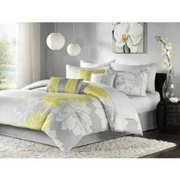 bedding and linens:Madison Park Brianna 7-piece Queen-size Comforter Set