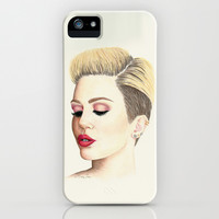 Miley Cyrus iPhone & iPod Case by haleyivers