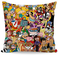 Totally 90s Couch Pillow