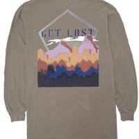 'Get Lost' Long Sleeve Tee