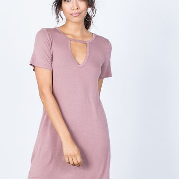 Casual Cool Tee Dress