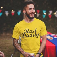 Rad Dad - Men's Graphic tshirt, Best Dad Shirt, Rad Daddy Tee - Husband Gift for him, Father T-shirt with sayings, Fathers gifts