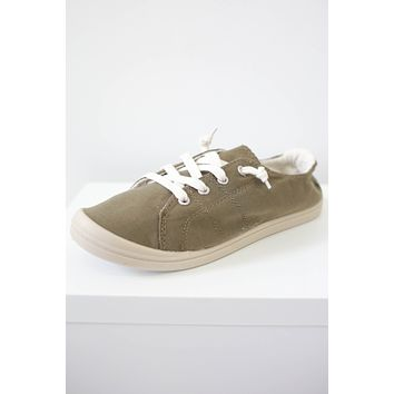 Emory Sneakers - Olive