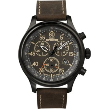 Timex Expedition® Field Chronograph - Black-Brown