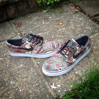 Custom 'Skunk Dunk' Inspired Nike SB Janoski