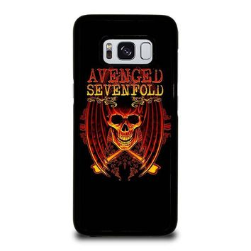 AVENGED SEVENFOLD A7X Samsung Galaxy S3 S4 S5 S6 S7 Edge S8 Plus, Note 3 4 5 8 Case Cover