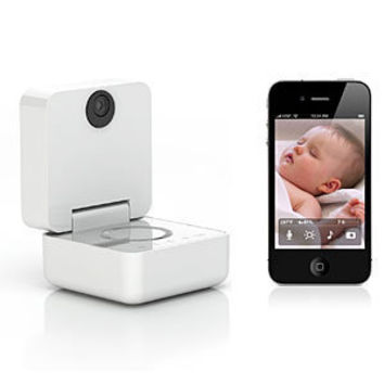 withings smart baby monitor for iphone from thinkgeek caring. Black Bedroom Furniture Sets. Home Design Ideas